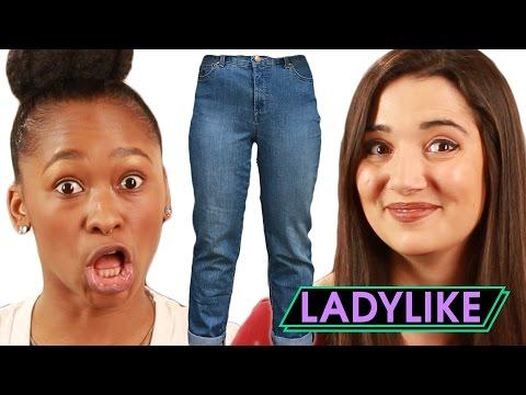 Women Wear Mom Jeans For A Week • Ladylike