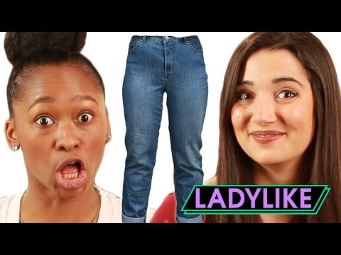 Women Wear Mom Jeans For A Week • Ladylike