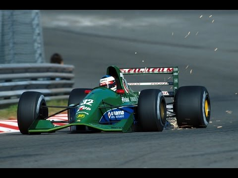 F1 1991: Michael Schumacher Amazing Debut Spa Qualifying - Formula One Highlights HD