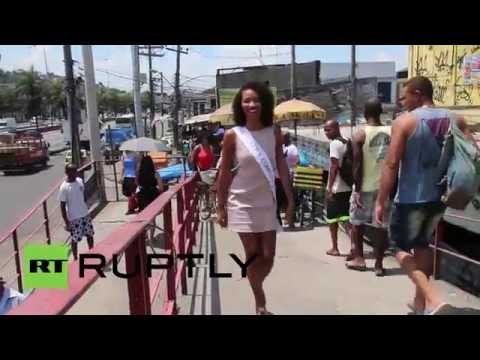 Brazil: This 'slum' beauty queen is from Rio's most dangerous favela