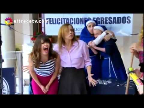 LANZA PAPEL - Esperanza mia: Mortero Lanza Papel en el capítulo Nroº 190 de Esperanza Mía, telenovela proyectada en Canal 13.