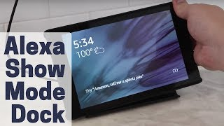 Show Mode Charging Dock Review: Fire HD Beats Echo Show?