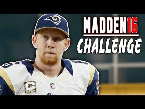 Johnny Hekker QB SACK! Madden 16 NFL Challenge - Punters VS Kickers