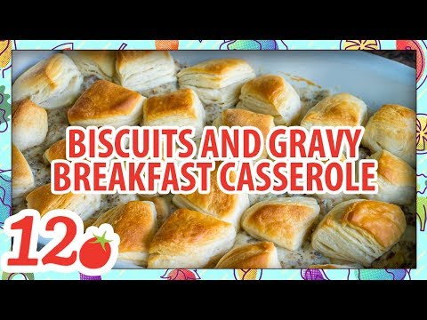 How To Make: Biscuits And Gravy Breakfast Casserole