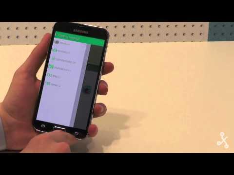 Primeras impresiones del Samsung Galaxy S5 en vídeo