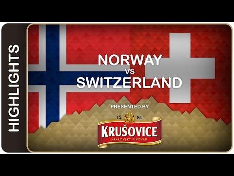 Olimb brothers fire Norway to OT win - Norway-Switzerland HL - #IIHFWorlds 2016 - 동영상