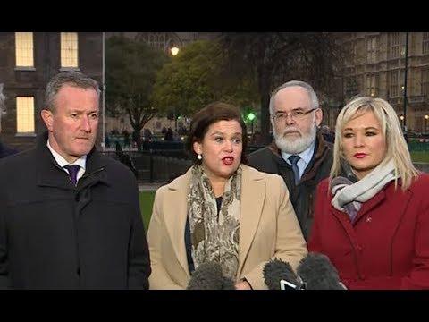 Sinn Fein says Theresa May does not have powersharing plan