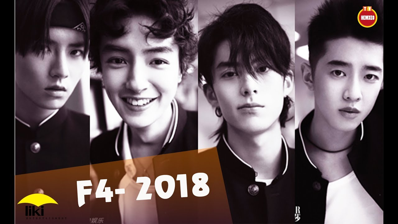 Vườn Sao Băng 2018 ▷ F4 2018 [ Những chàng trai đẹp hơn hoa đã trở lại]