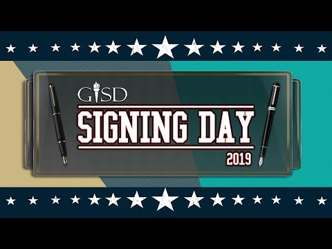 Garland ISD: National Signing Day 2019