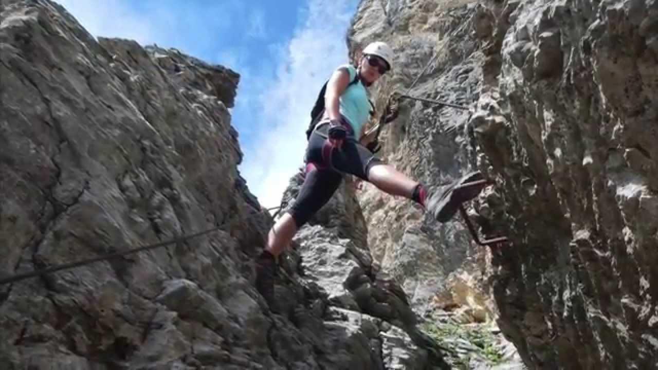 Klettersteig Tälli : Klettersteig tälli youtube