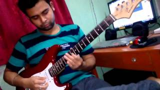 HUMSAFAR INSTRUMENTAL (GUITAR COVER WITH CHORD PULSE)