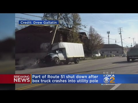 Dash Cam Video Captures Route 51 Crash