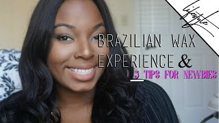 Repeat youtube video My First Brazilian Wax Experience and Five Tips for Newbie Waxers