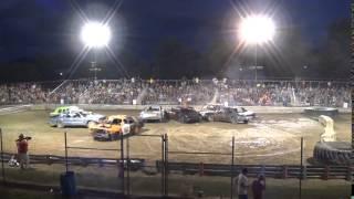 munger potato festival 2015 demolition derby big cars