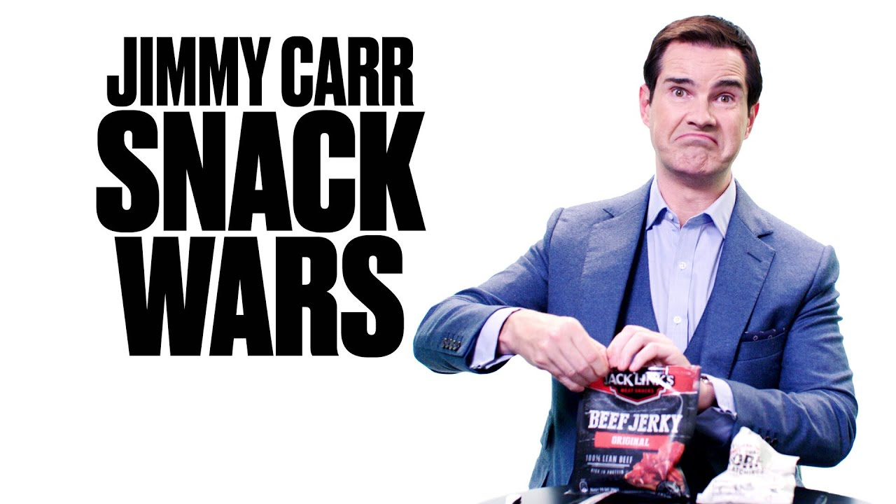 Jimmy Carr Tries British and US Snacks | Snack Wars | @LADbible TV