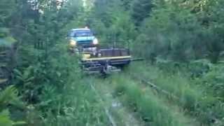 Alberni Pacific Railway - mower