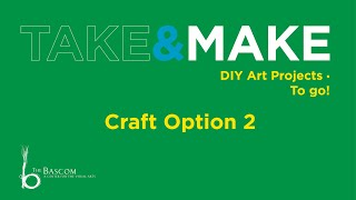 Take and Make-Leaves and Trees-Craft Option 2
