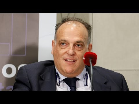 LaLiga President, Javier Tebas