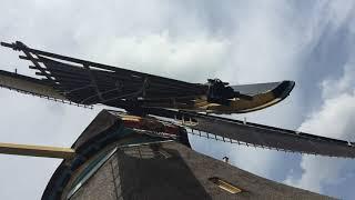 Dutch Windmill Blade View - Oud Zuilen - August 14, 2019