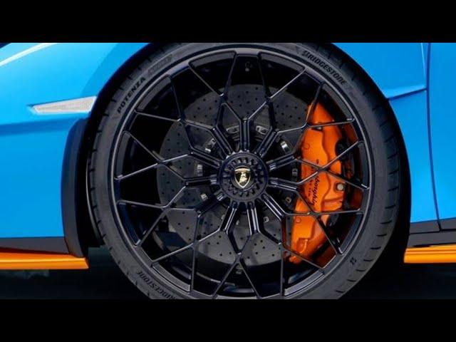 Bridgestone ได้รับเลือกจาก Lamborghini ให้เป็นยางติดซุปเปอร์คาร์ Huracán STO