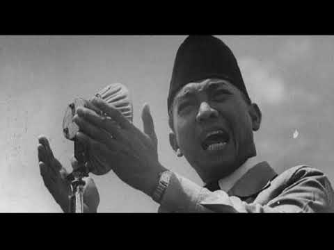 Sukarno The First President Of Indonesia