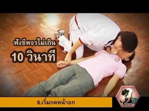 03 CPR  การช่วยฟื้นคืนชีพ (Cardiopulmonary resuscitation : CPR)