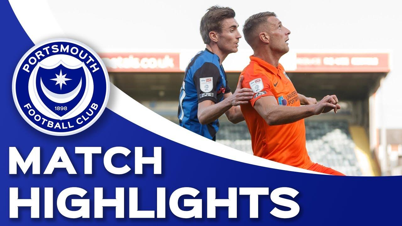 Highlights   Rochdale 0-0 Pompey