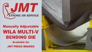 Press Brakes | Wila Multi-V Die (Manually Adjustable) offered by JMT