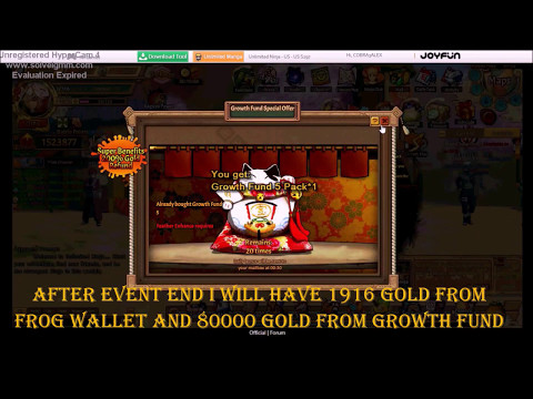 Ninja Unlimited When to top up and how to invest your gold G