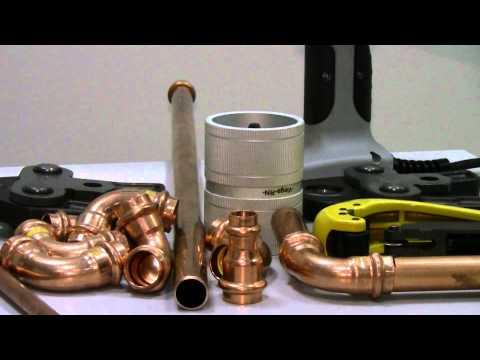Прессование медных труб --  это быстро и просто! (4)