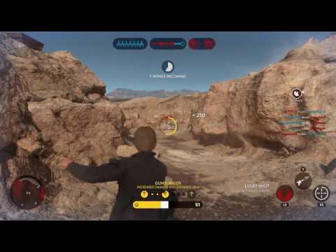 Star Wars Battlefront: 117 Han Solo killstreak!