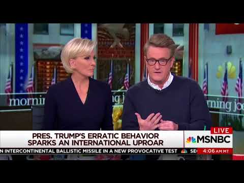"Scarborough Calls for Trump Removal: ""People Close Told Me He Had Early Stages of Dementia"""
