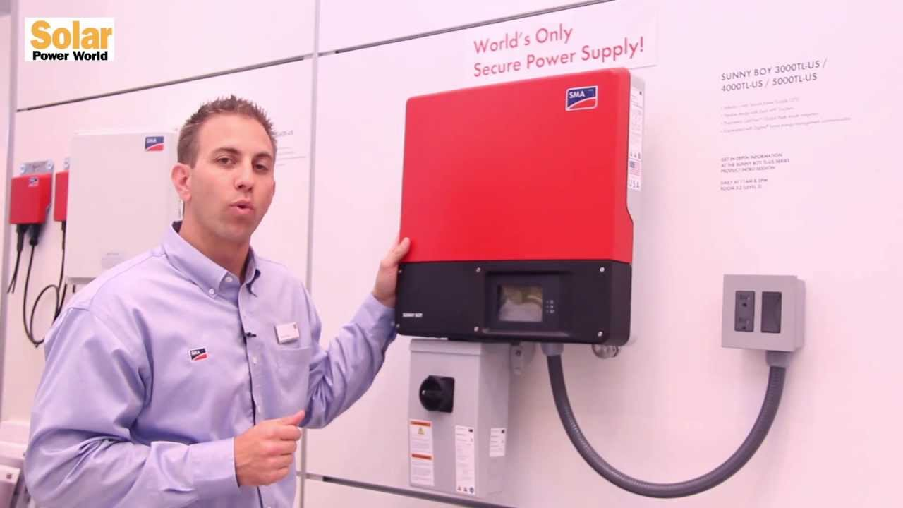 SMA announces availability of world's only solar inverter with Secure Power  Supply