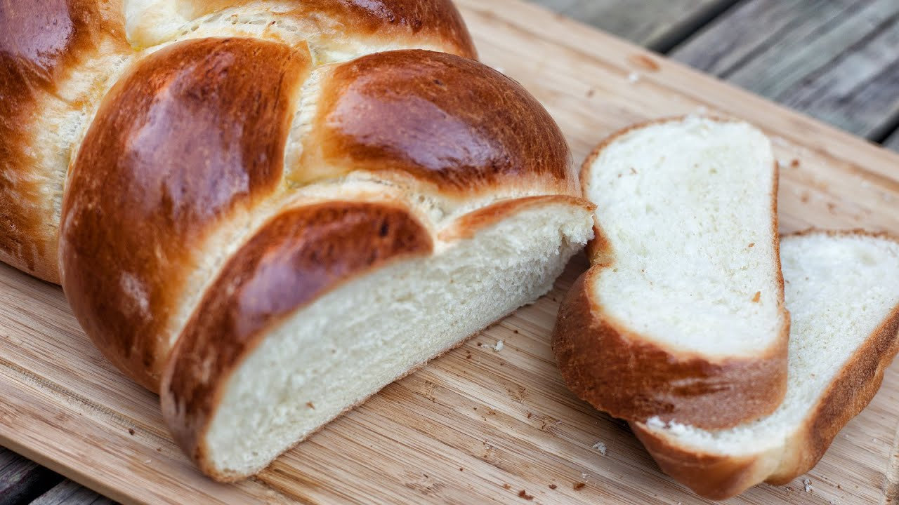 Polish Braided Bread Chalka Recipe 177 Youtube