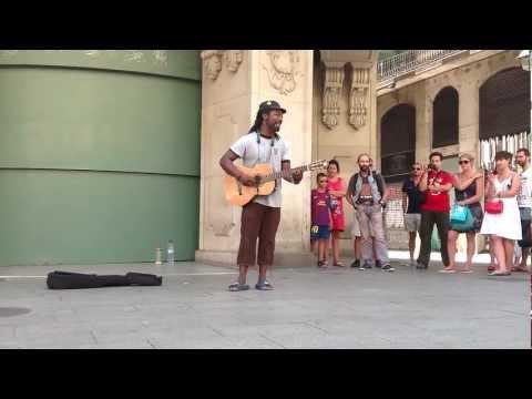 Playing for change - CLARENCE BEKKER, 2012 Barcelona