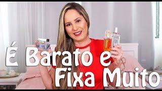 Perfumes Baratos - Excelente Fixação por Menos de R$100,00