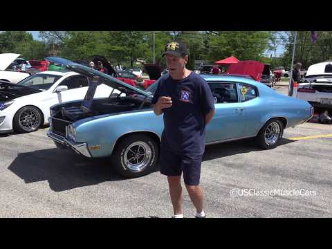 1970 Buick Skylark GS - Wheeling High School Car Show