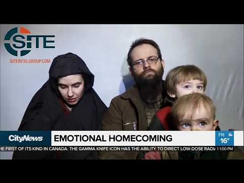 Former Canadian hostage Joshua Boyle and family return to Canada