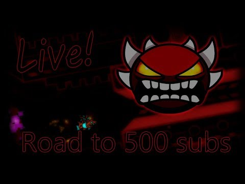 Geometry dash  Level requests Road to 500 subs