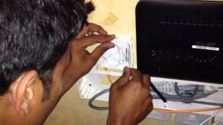 Qtel Fibre Optic Installation - 100 Mbps
