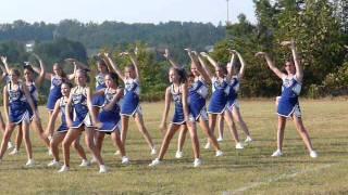 Fannin County Middle Cheerleaders