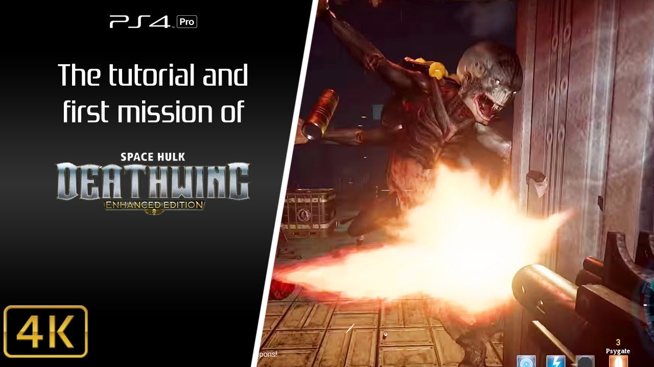 space hulk deathwing enhanced edition ps4 pro