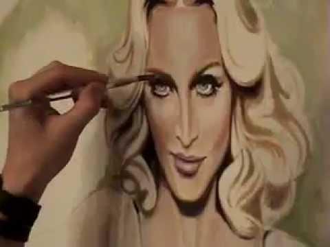 Nick San Pedro Paints Madonna & The World