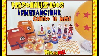Preparativos Festa Dragon Ball #GabrielFaz9 - FINALIZADOS