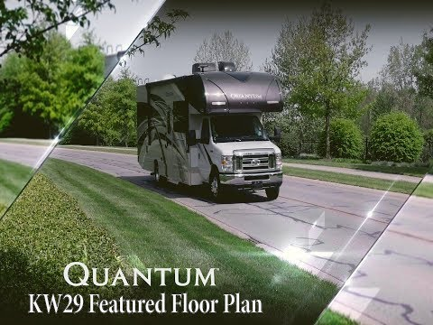 2019 Quantum™ KW29 Class C Featured Floor Plan From Thor Motor Coach