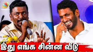 Council-ல சின்ன வீடு : Parthiban Funny Speech | Vishal | Producer Council