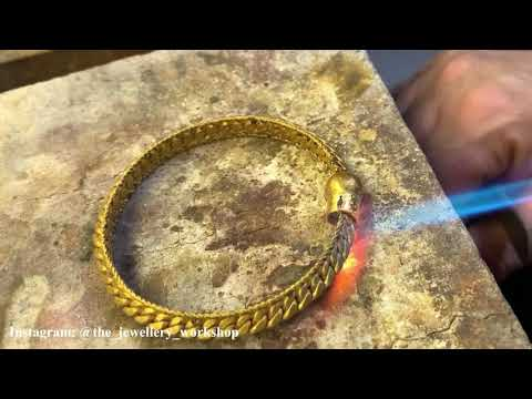 Making Traditional 24k Gold Bangles! Indian Jewelry | Gold Jewelry Making | How it's made | 4K Video