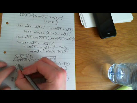 Galois theory Part 6 - Galois extensions and Galois groups