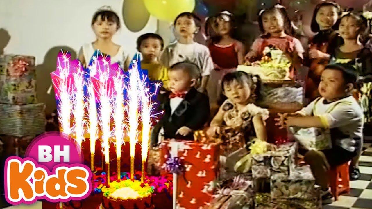 Bài Hát Chúc Mừng Sinh Nhật ❤ Nhạc Thiếu Nhi Vui Nhộn Cho Trẻ Mầm Non ♫ Happy Birthday To You