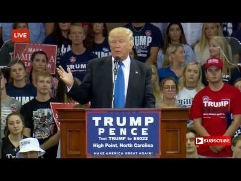 Full Event   Donald Trump Rally in High Point, NC 9   20   2016 Trump High Point University Speech